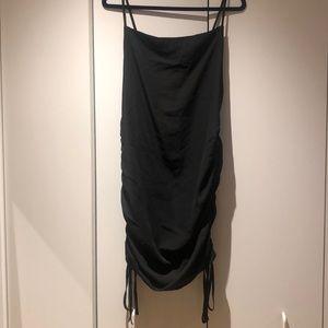 Forever21 Cinched Black Dress